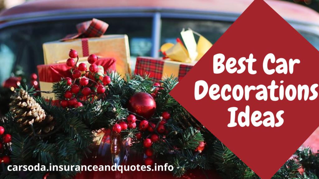 Best Car Decorations Ideas