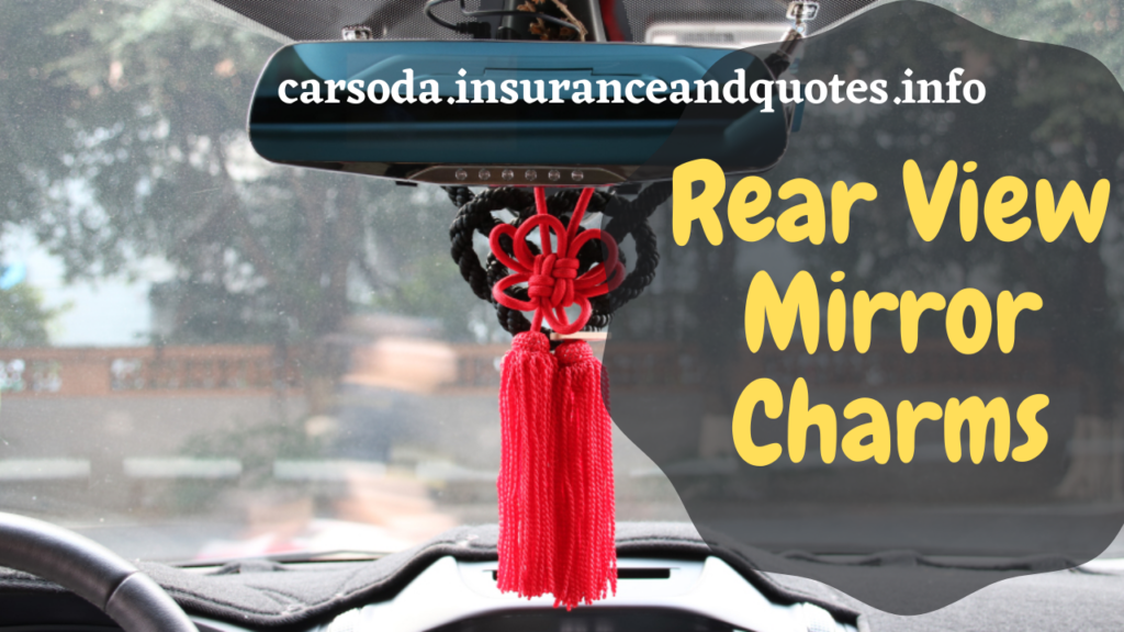 Rear View Mirror Charms