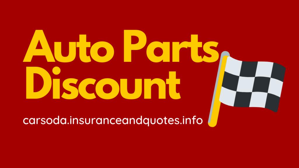 Auto Parts Discount